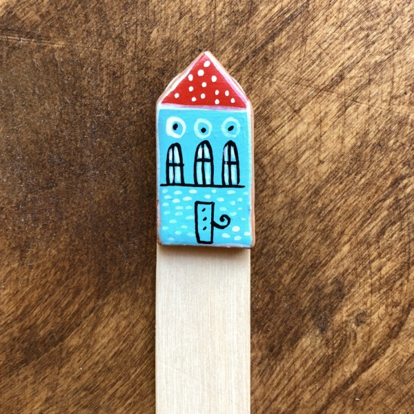Semn de carte Little Houses model 8