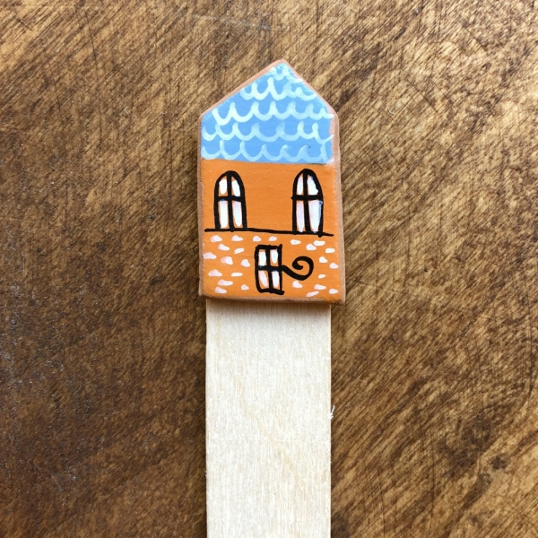 Semn de carte Little Houses model 7