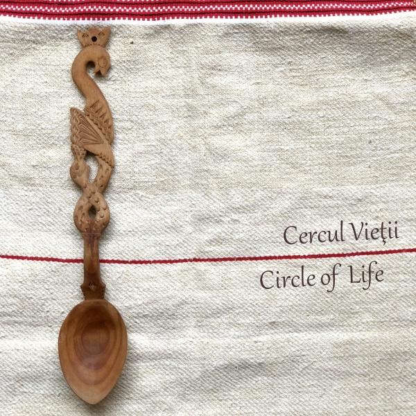 Lingură lemn cireș - Cercul Vieții 1