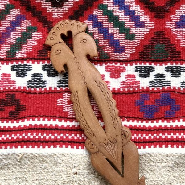 Lingură lemn cireș - Mirii