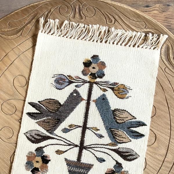 Carpetă 45x30 cm motiv pomul vieții nature