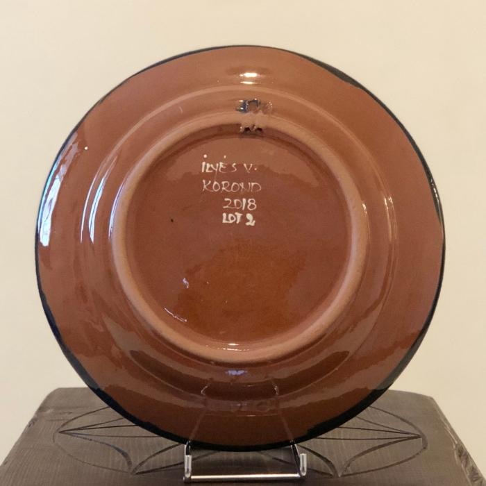 Farfurie albastră Ø 24 cm model 1