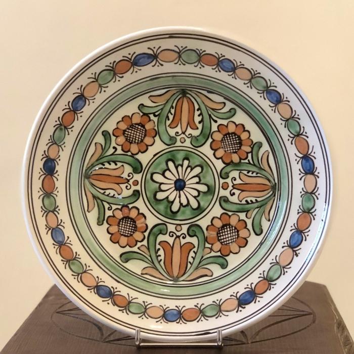 Farfurie multicoloră Ø 24 cm model 1