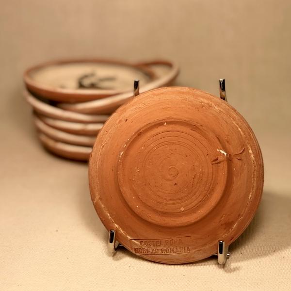 Farfurie Ø 10 cm Cocoș 1