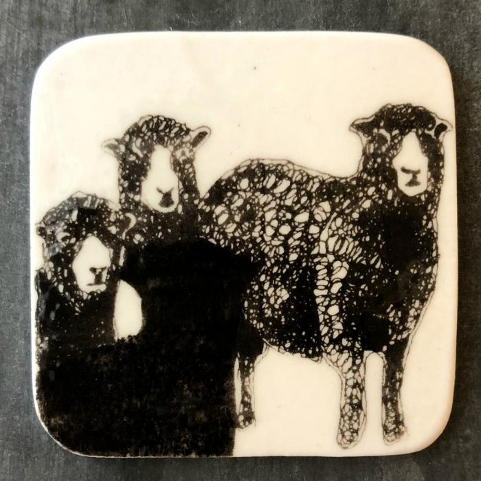 Magnet porţelan model oi