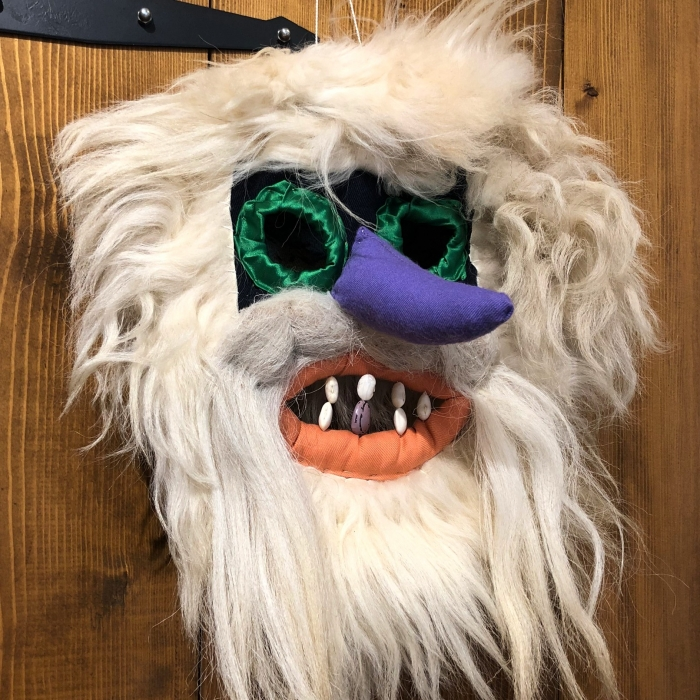 Mască decorativă tradițională model 1