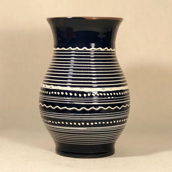 Vază albastră 20 cm model 2