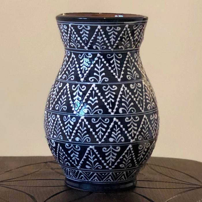 Vază albastră model 1